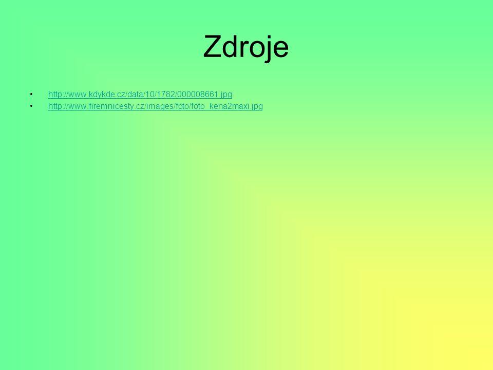 Zdroje http://www.kdykde.cz/data/10/1782/000008661.jpg