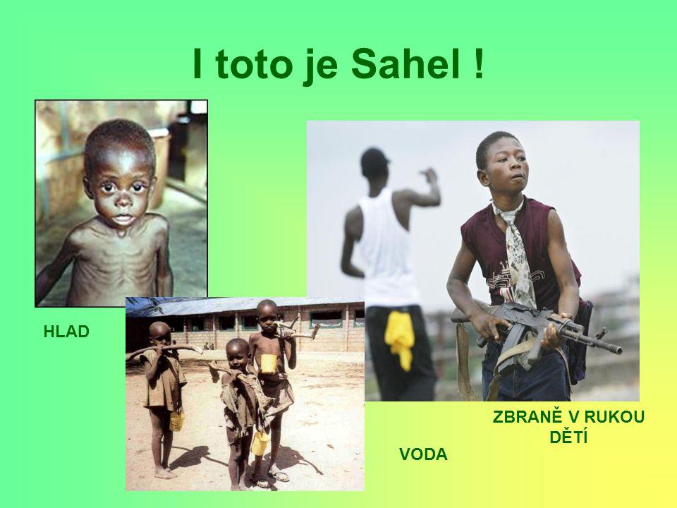 I toto je Sahel ! HLAD ZBRANĚ V RUKOU DĚTÍ VODA