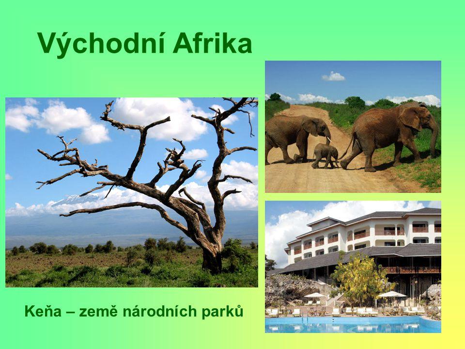 Keňa – země národních parků
