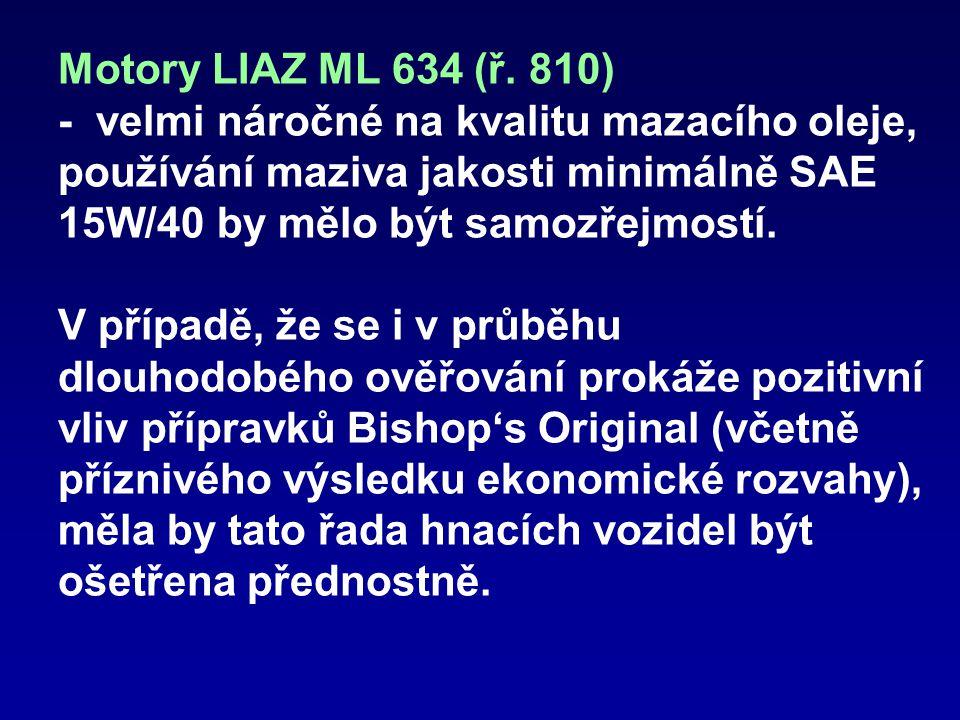 Motory LIAZ ML 634 (ř.