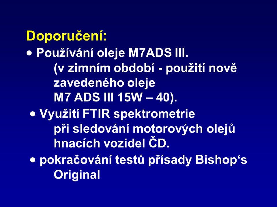 Doporučení:  Používání oleje M7ADS III
