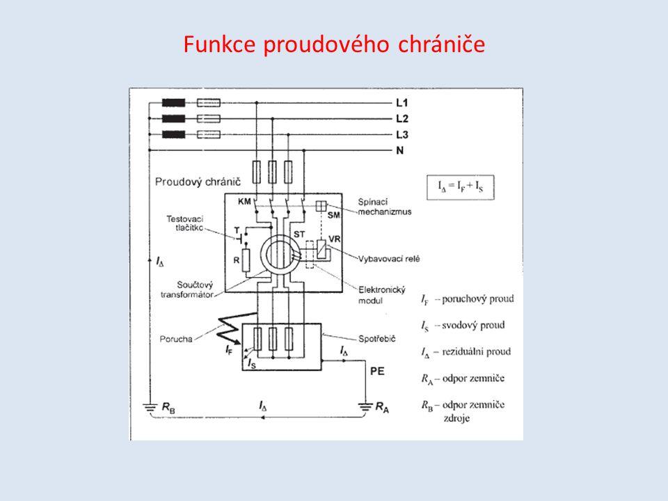 Funkce proudového chrániče