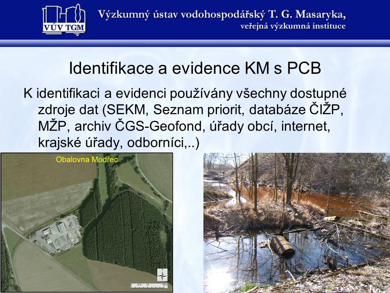 Identifikace a evidence KM s PCB