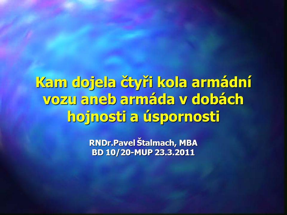 RNDr.Pavel Štalmach, MBA