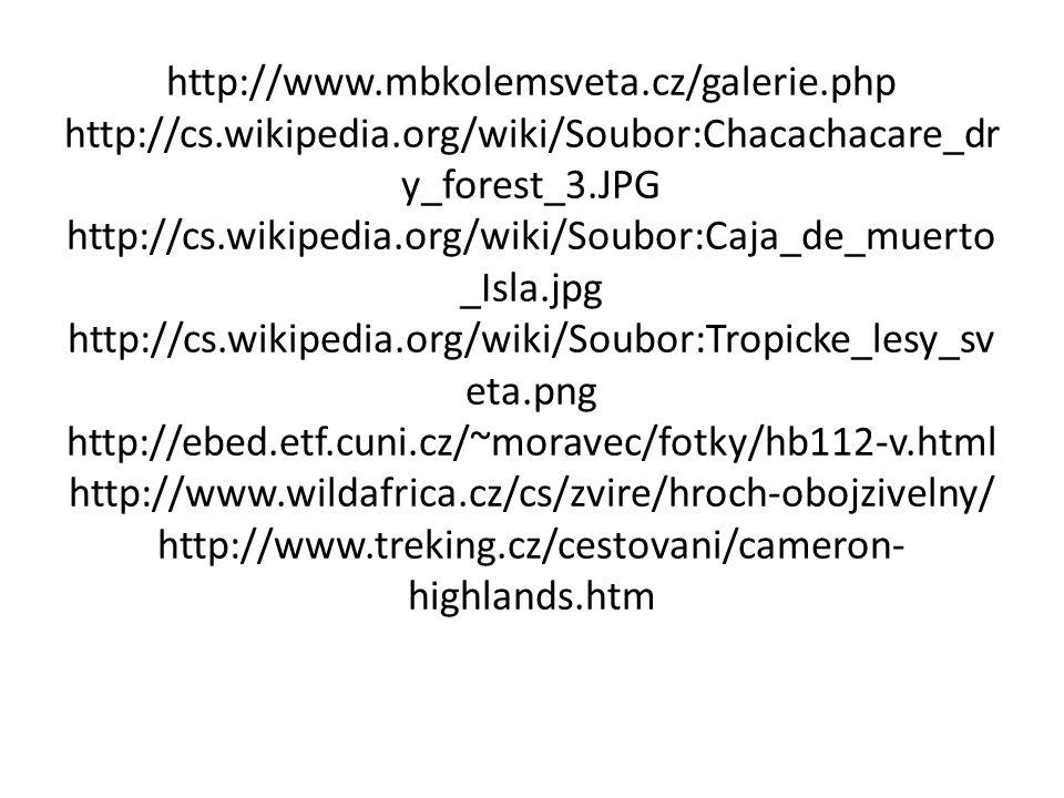 http://www. mbkolemsveta. cz/galerie. php http://cs. wikipedia