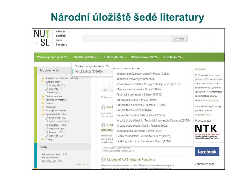 Národní úložiště šedé literatury