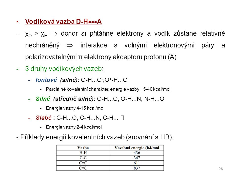 Vodíková vazba D-HA