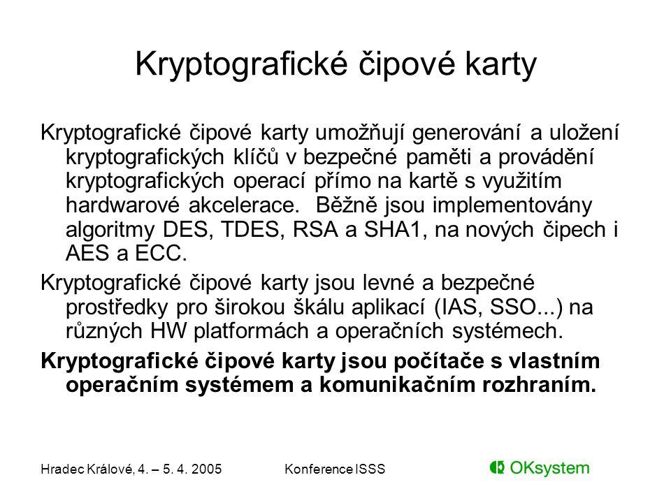 Kryptografické čipové karty