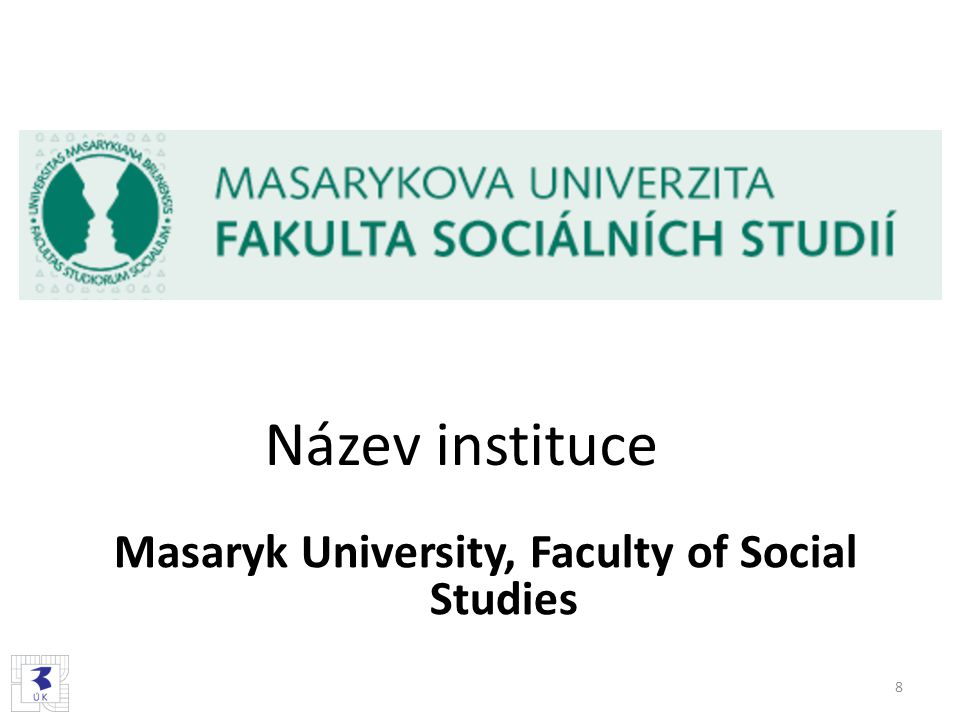 Masaryk University, Faculty of Social Studies