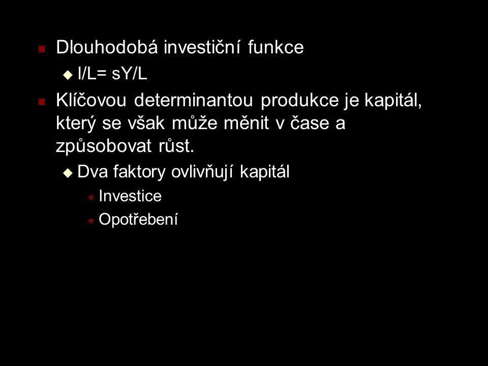 Dlouhodobá investiční funkce