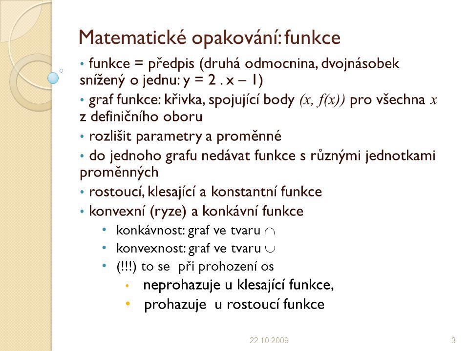 Matematické opakování: funkce