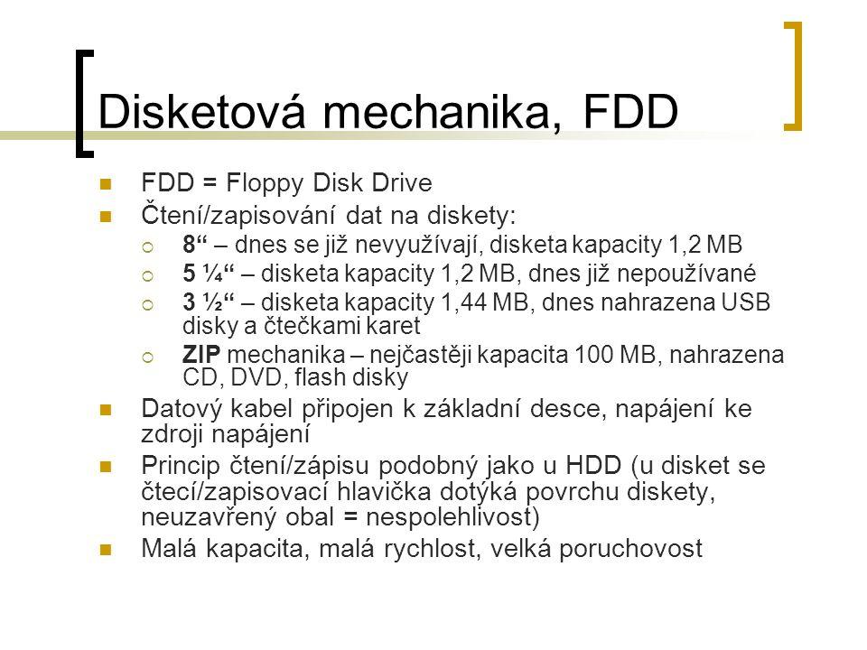 Disketová mechanika, FDD