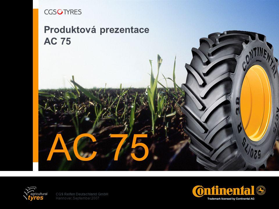 Produktová prezentace AC 75