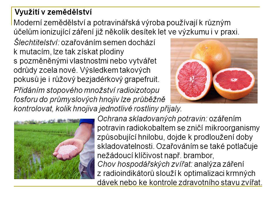Využití v zemědělství