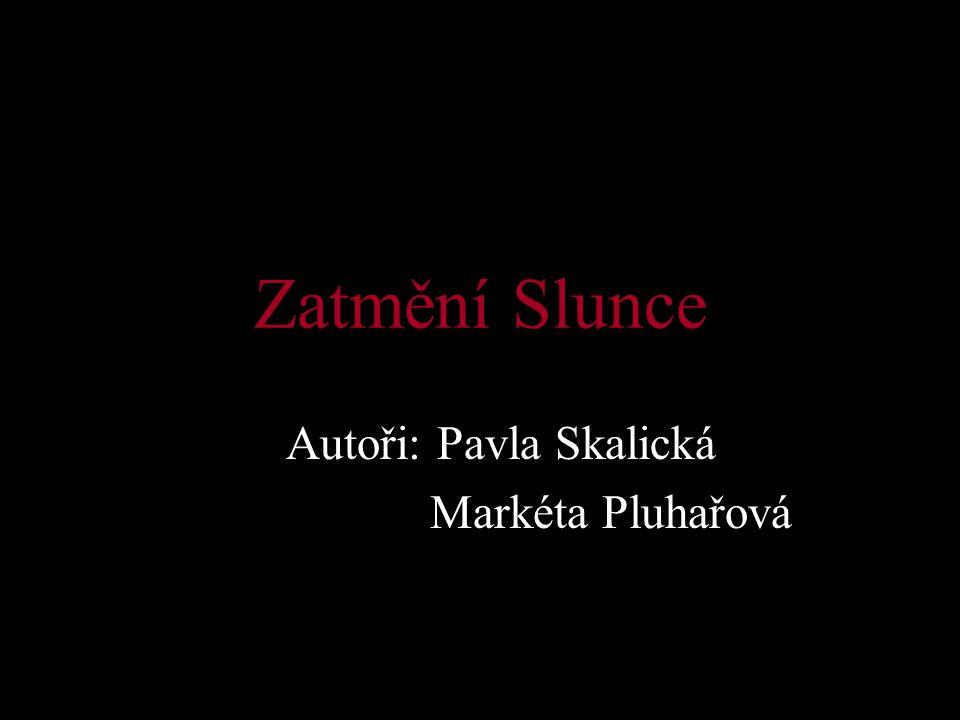 Autoři: Pavla Skalická Markéta Pluhařová