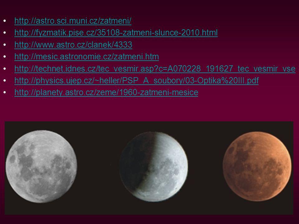 http://astro.sci.muni.cz/zatmeni/ http://fyzmatik.pise.cz/35108-zatmeni-slunce-2010.html. http://www.astro.cz/clanek/4333.