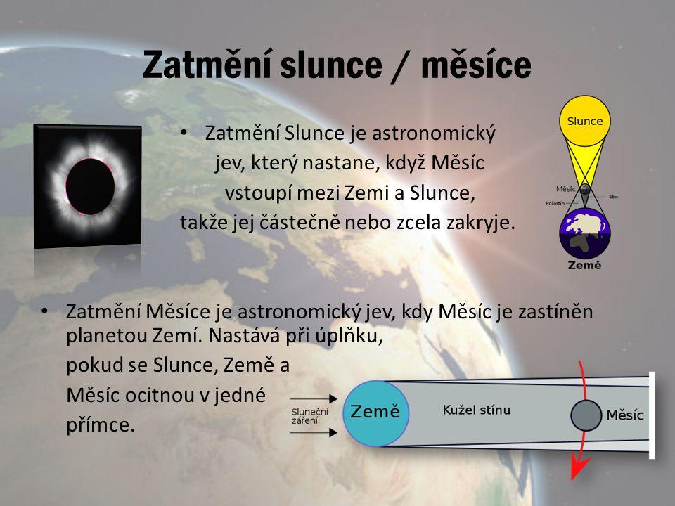 Zatmění slunce / měsíce