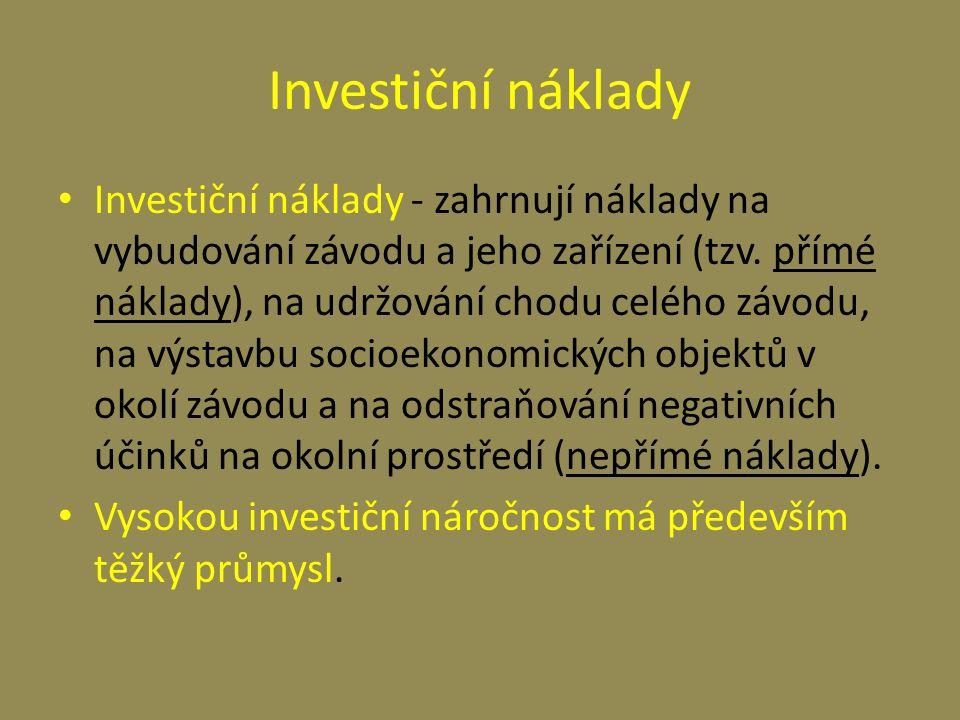 Investiční náklady
