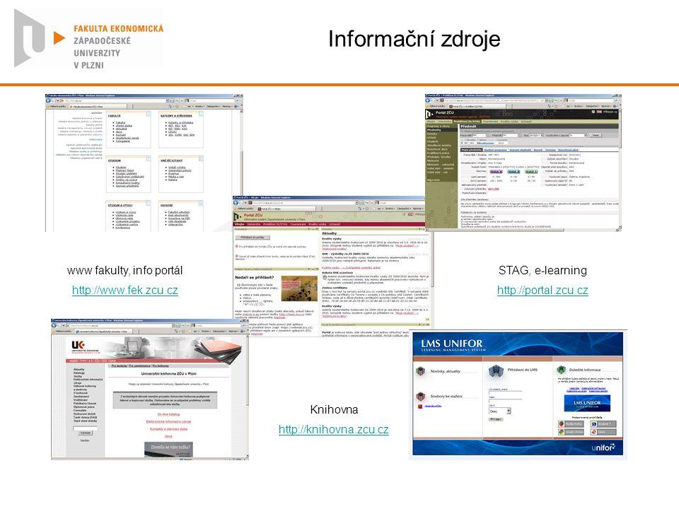www fakulty, info portál