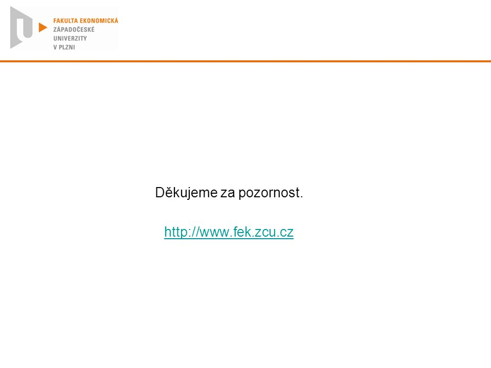Děkujeme za pozornost. http://www.fek.zcu.cz