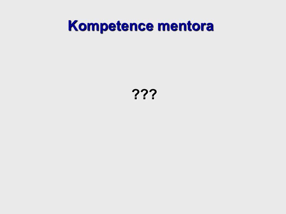 Kompetence mentora