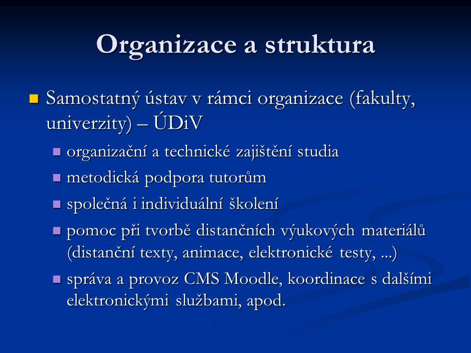 Organizace a struktura