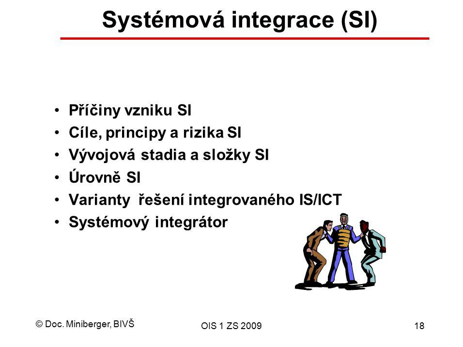 Systémová integrace (SI)