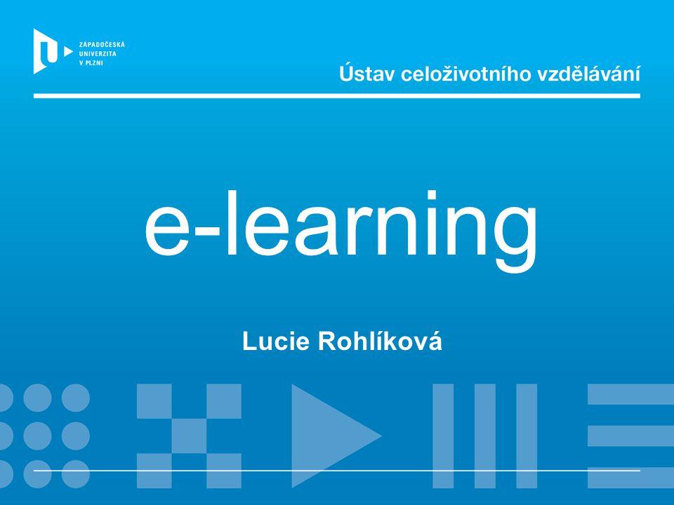 e-learning Lucie Rohlíková