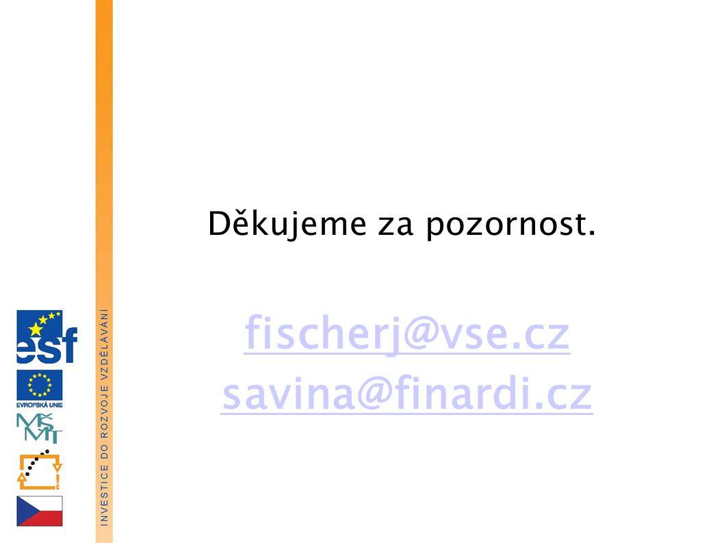 fischerj@vse.cz savina@finardi.cz