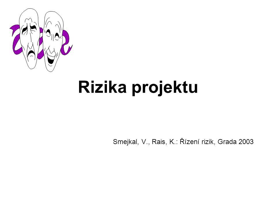 Smejkal, V., Rais, K.: Řízení rizik, Grada 2003