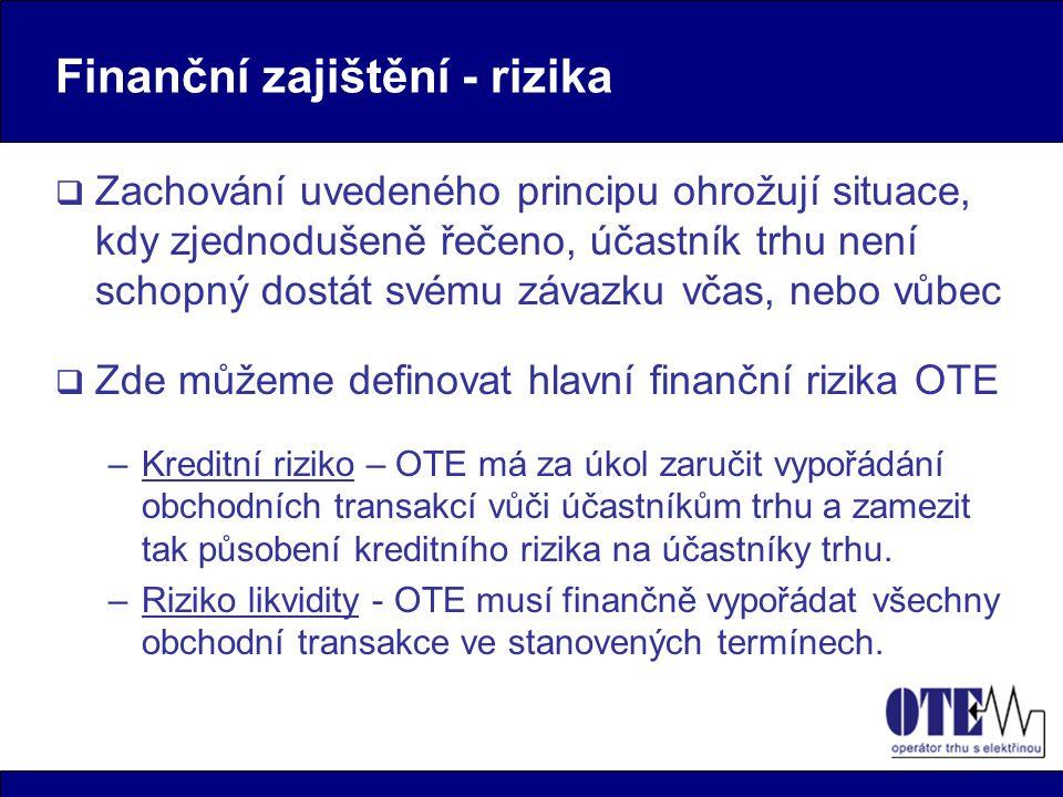 Finanční zajištění - rizika