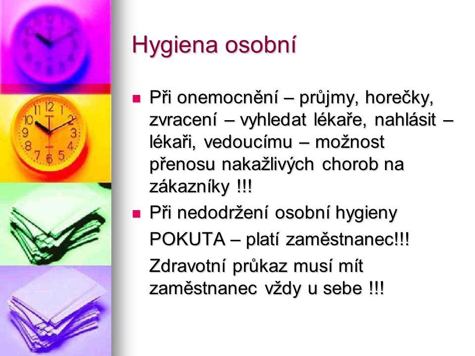 Hygiena osobní