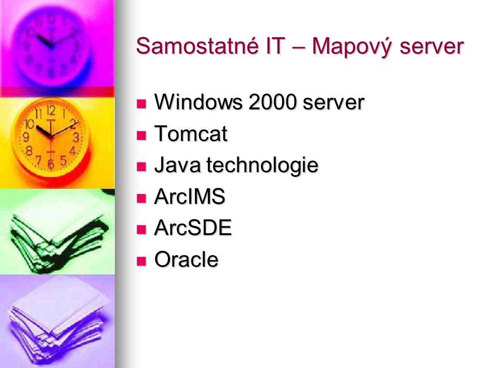 Samostatné IT – Mapový server