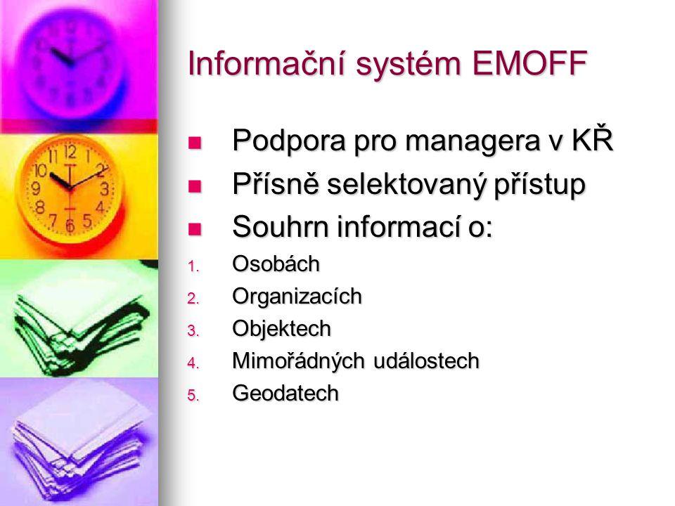 Informační systém EMOFF
