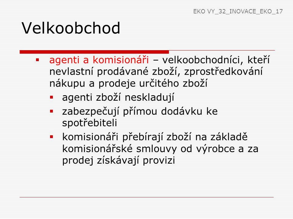 EKO VY_32_INOVACE_EKO_17 Velkoobchod.