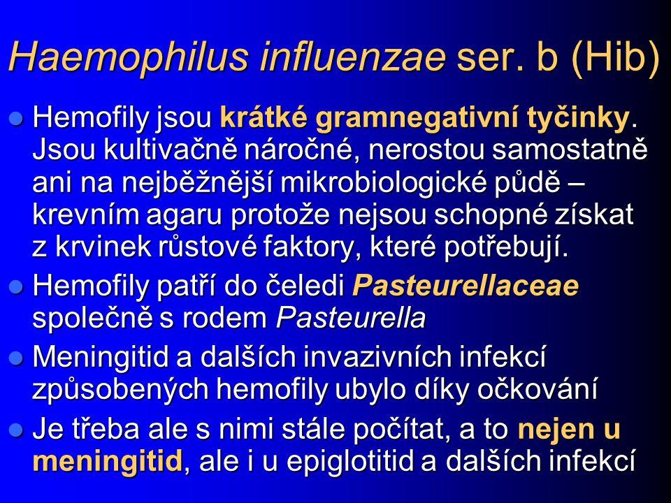 Haemophilus influenzae ser. b (Hib)