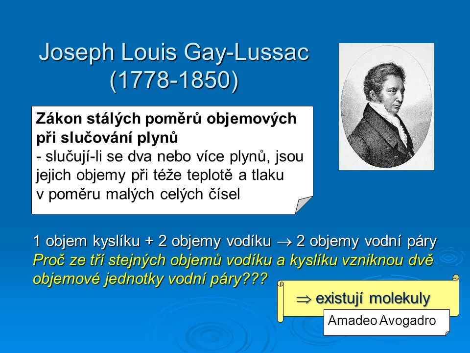 Joseph Louis Gay-Lussac (1778-1850)