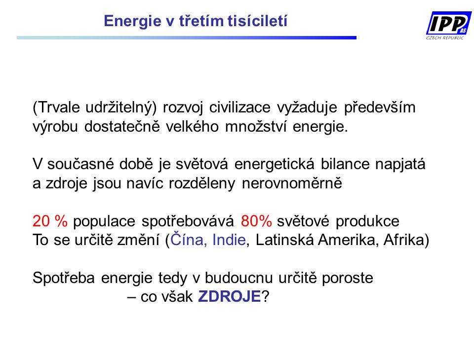 Energie v třetím tisíciletí