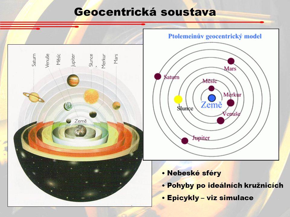 Geocentrická soustava