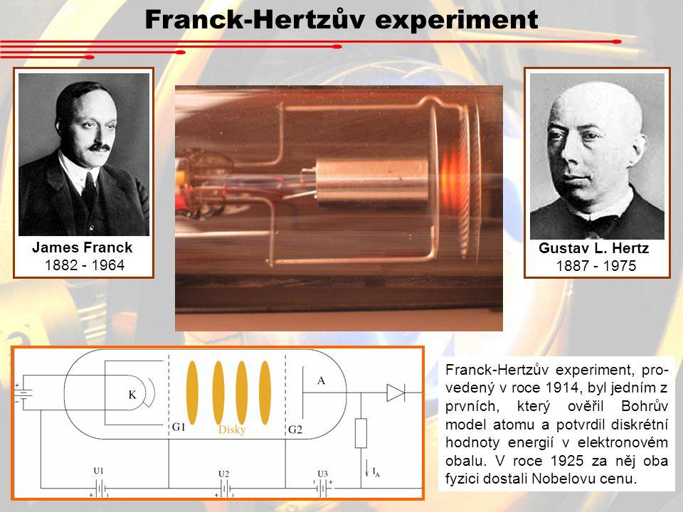 Franck-Hertzův experiment