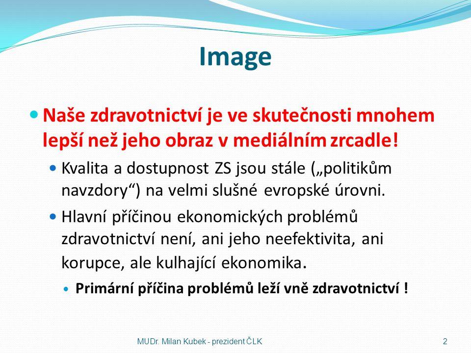 Image Naše zdravotnictví je ve skutečnosti mnohem lepší než jeho obraz v mediálním zrcadle!