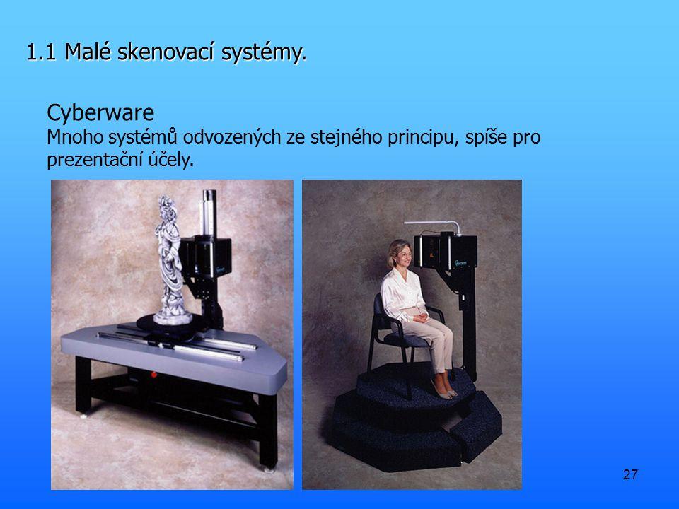 1.1 Malé skenovací systémy.