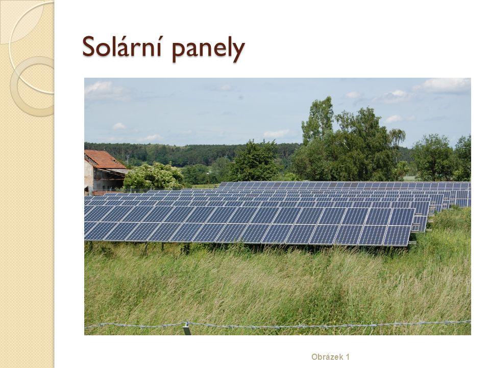 Solární panely Obrázek 1