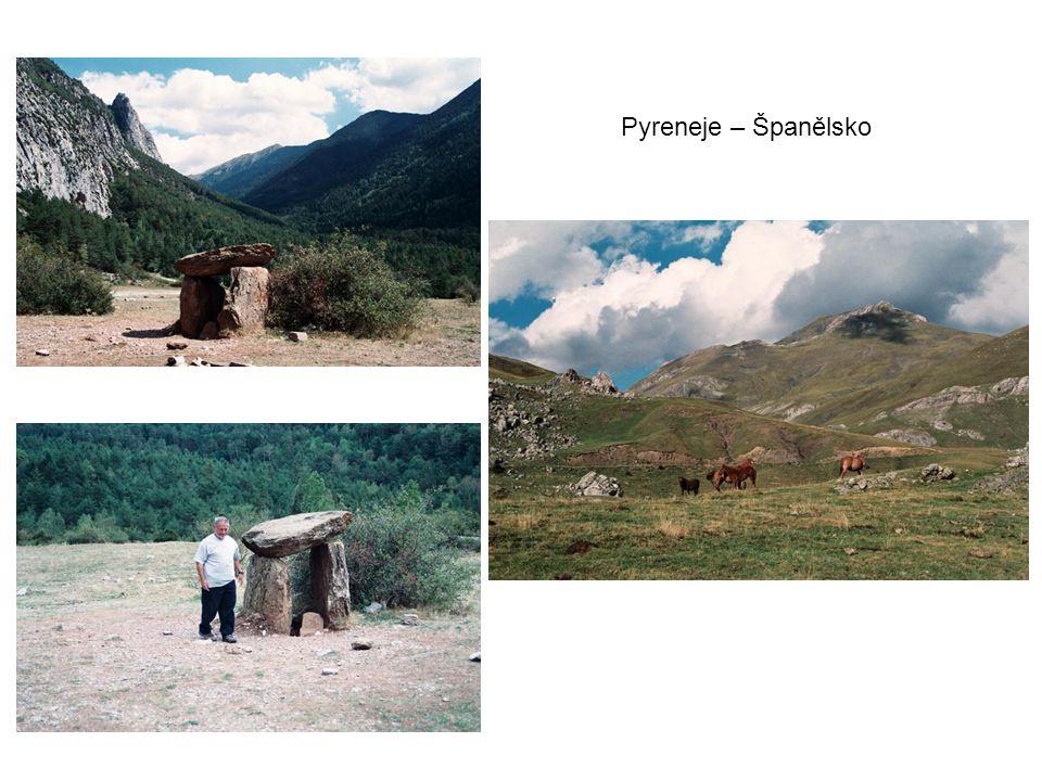 Pyreneje – Španělsko