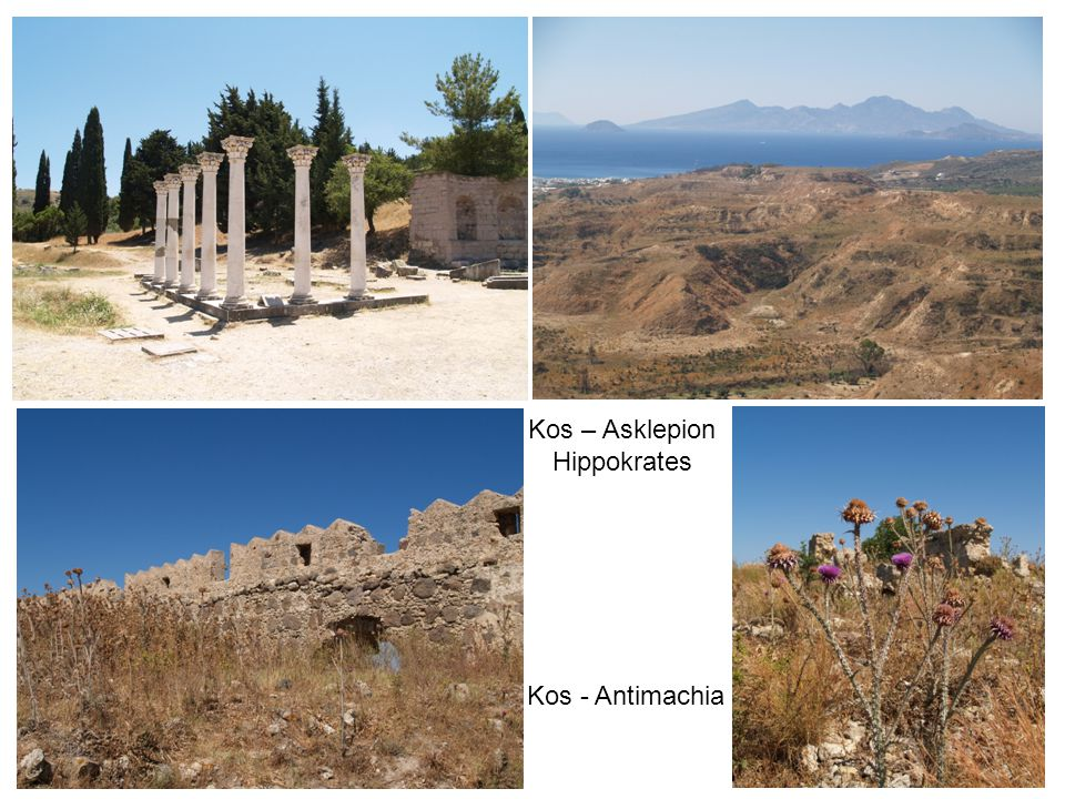 Kos – Asklepion Hippokrates Kos - Antimachia