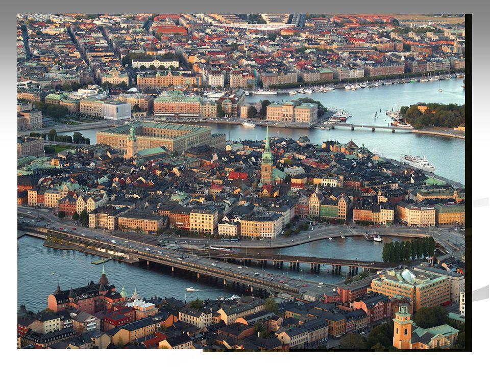 Základní informace Hlavní město : Stockholm
