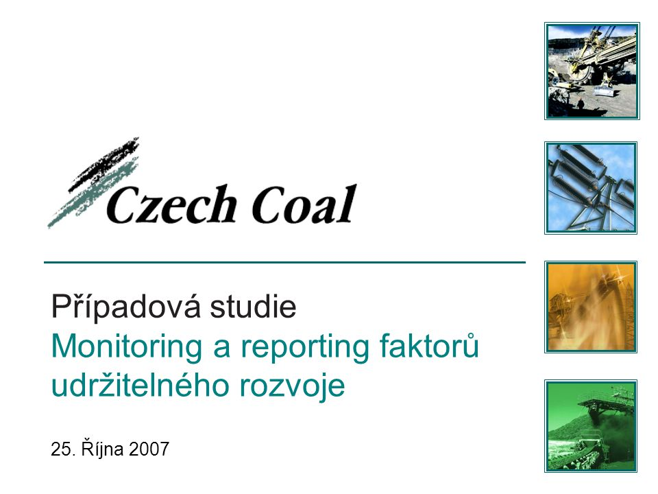 Monitoring a reporting faktorů udržitelného rozvoje