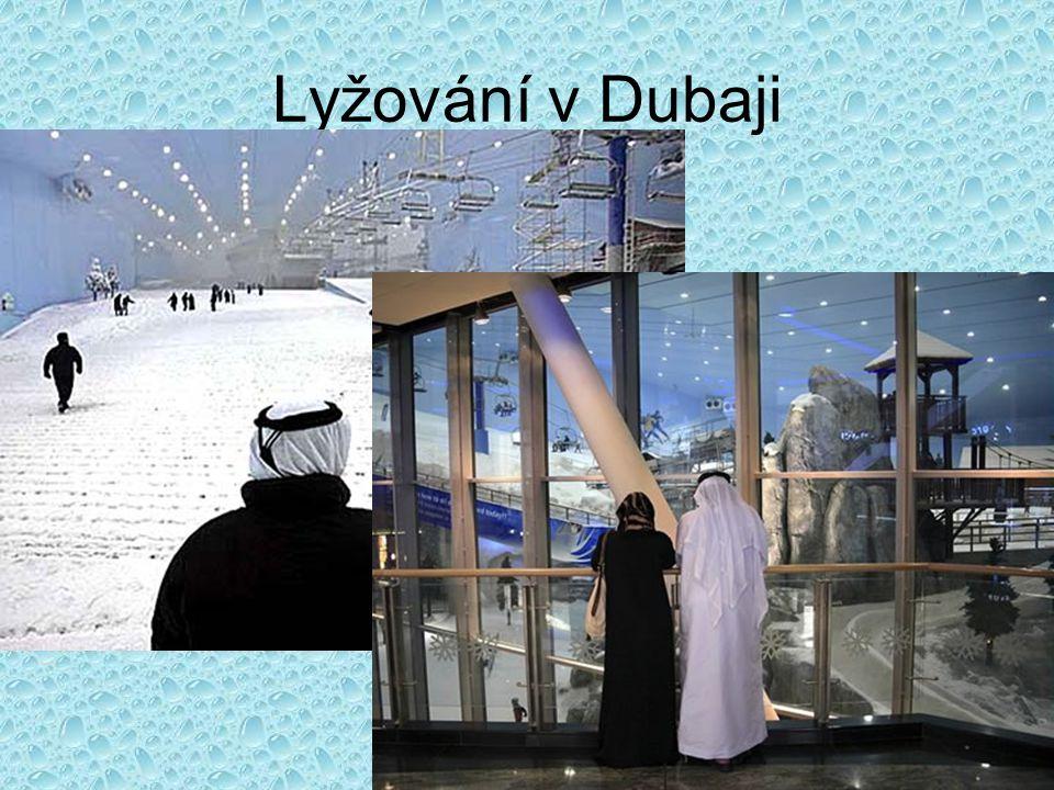 Lyžování v Dubaji
