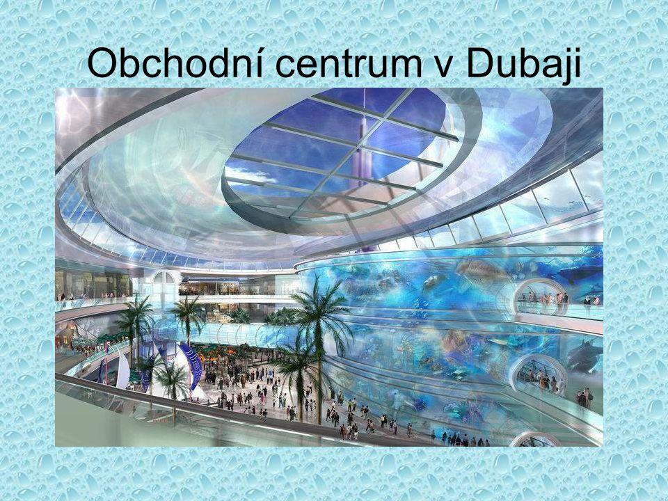 Obchodní centrum v Dubaji