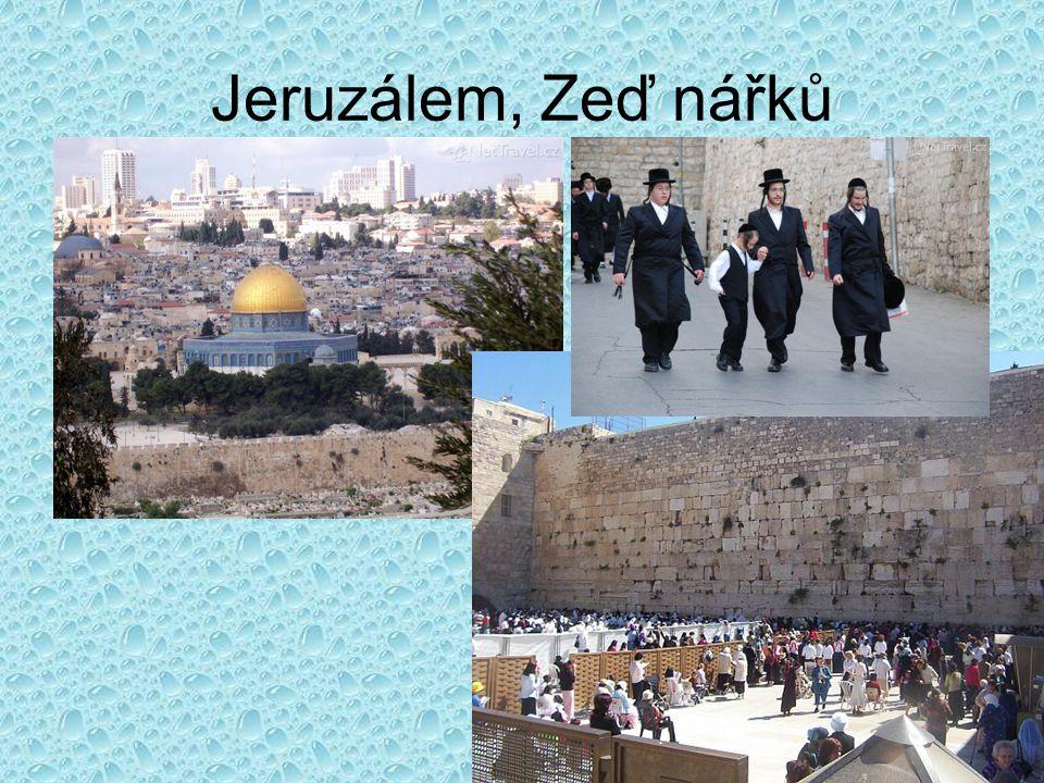 Jeruzálem, Zeď nářků